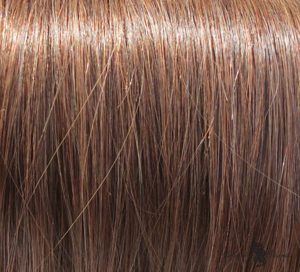 "21"" Clip In Remy Hair Extensions: Light Ash Brown No. 5 - Celebrity Strands  - 1"