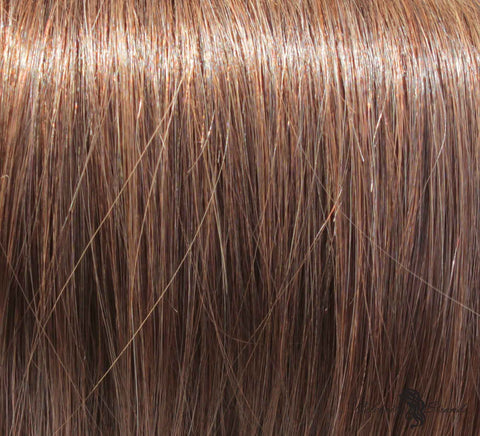 "16"" Clip In Remy Hair Extensions: Light Ash Brown No. 5 - Celebrity Strands  - 1"