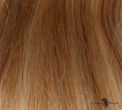 "18"" Clip In Remy Hair Extensions: Blonde/ Monroe Blonde No. P27-613 - Celebrity Strands  - 1"
