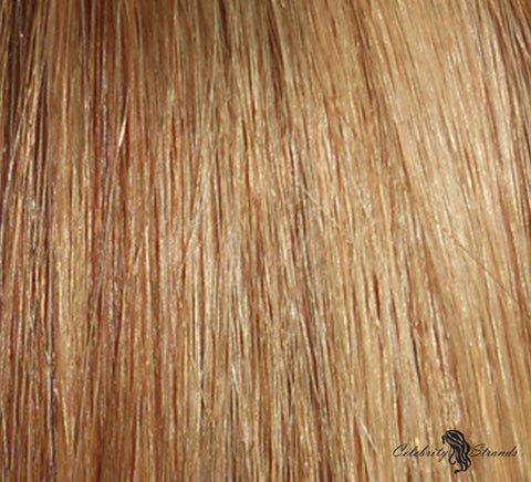 "18"" Clip In Remy Hair Extensions: Light Brown/ Golden Blonde No. P8-24 - Celebrity Strands  - 1"