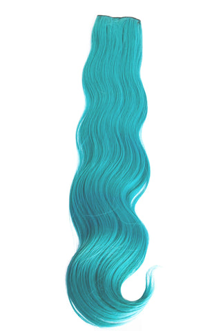 Exotic Flare- Aqua Curly - Celebrity Strands  - 2