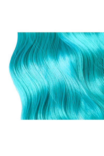 Exotic Flare- Aqua Curly - Celebrity Strands  - 3
