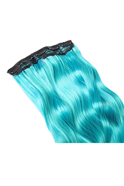 Exotic Flare- Aqua Curly - Celebrity Strands  - 4