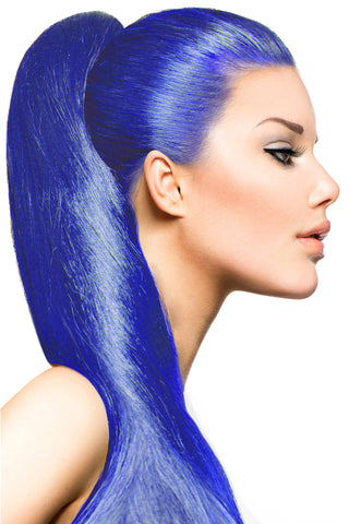 Exotic Flare- Blue Curly - Celebrity Strands  - 1