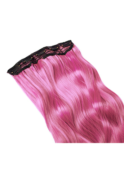 Exotic Flare- Pink Curly - Celebrity Strands  - 4