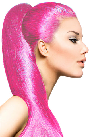 Exotic Flare- Pink Curly - Celebrity Strands  - 1
