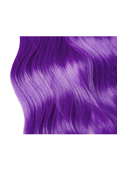 Exotic Flare- Purple Curly - Celebrity Strands  - 4