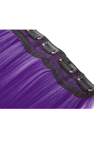 Exotic Flare- Purple Curly - Celebrity Strands  - 5