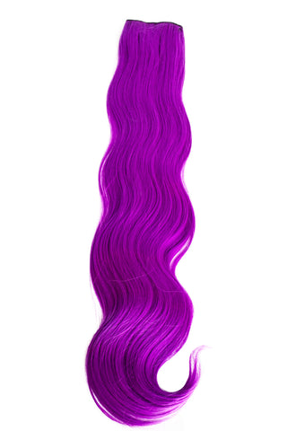 Exotic Flare- Violet Curly - Celebrity Strands  - 2