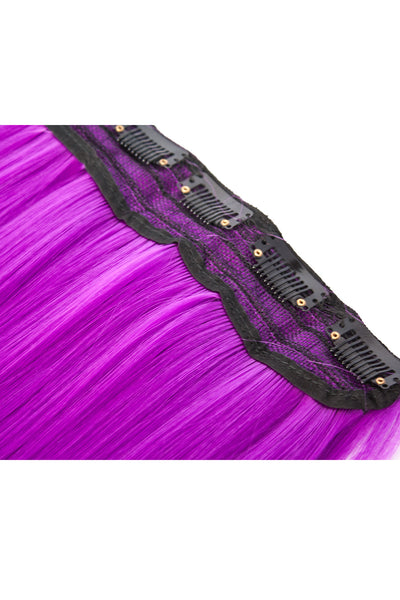 Exotic Flare- Violet Curly - Celebrity Strands  - 5