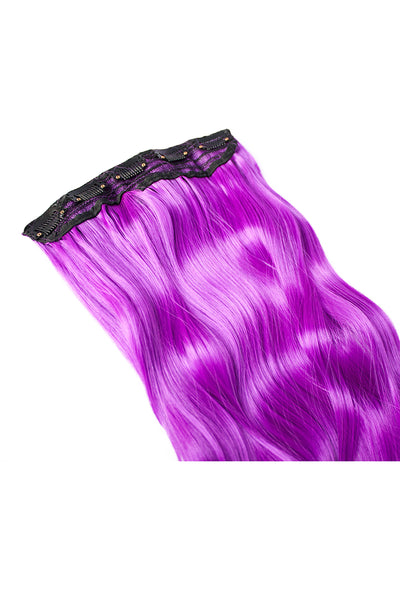 Exotic Flare- Violet Curly - Celebrity Strands  - 4