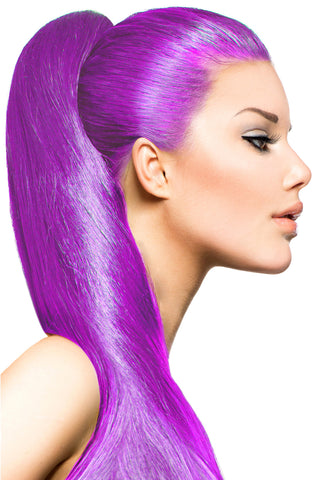 Exotic Flare- Violet Curly - Celebrity Strands  - 1