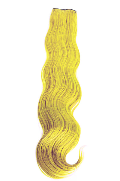 Exotic Flare- Yellow Curly - Celebrity Strands  - 2
