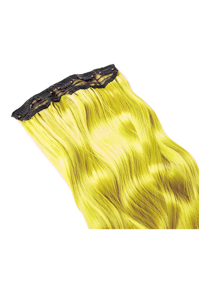 Exotic Flare- Yellow Curly - Celebrity Strands  - 4
