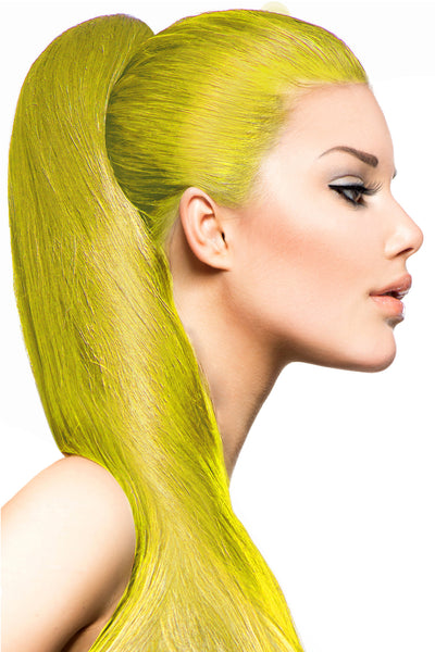 Exotic Flare- Yellow Curly - Celebrity Strands  - 1