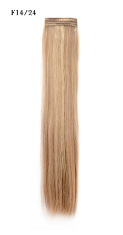Weft Human Hair Extensions: Color #F14/24