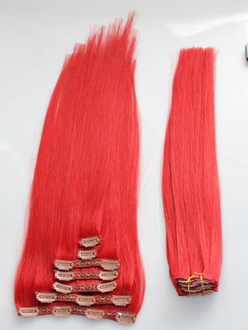 "Red Carpet:  21"" Clip In Hair Extensions - Celebrity Strands  - 2"