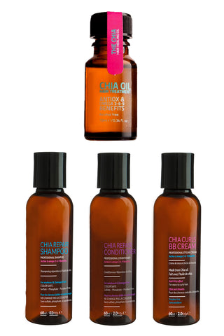 Chia SET: Repair Shampoo-Conditioner-BB Cream-Chia Oil