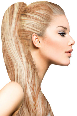 "18"" Clip In Hair Extensions: No P27-613 Blonde/ Monroe Blonde - Celebrity Strands  - 1"