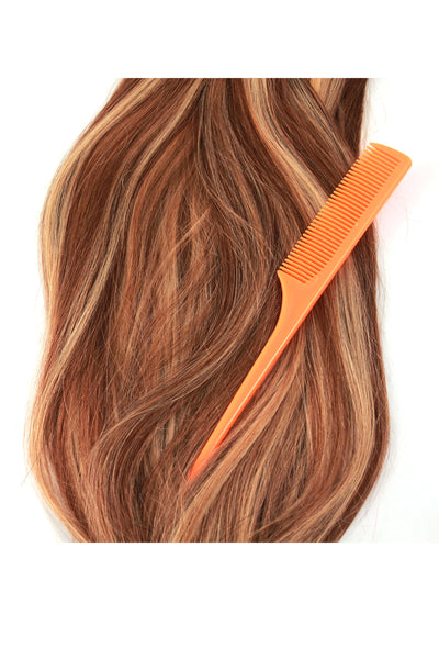 Rat Tail Comb: Orange - Celebrity Strands  - 2
