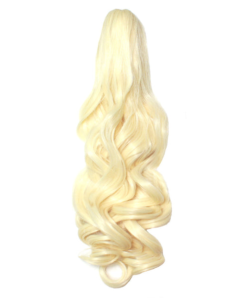 PonyTail Extensions: No 613 Platinum Blonde