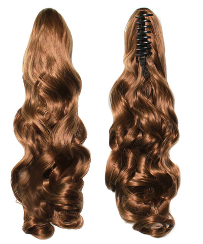 PonyTail Extensions: No 6A Chestnut Honey Brown