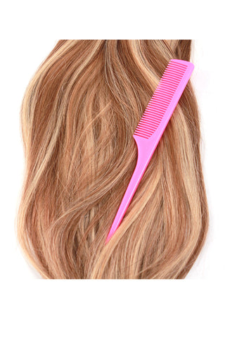 Rat Tail Comb: Pink - Celebrity Strands  - 2