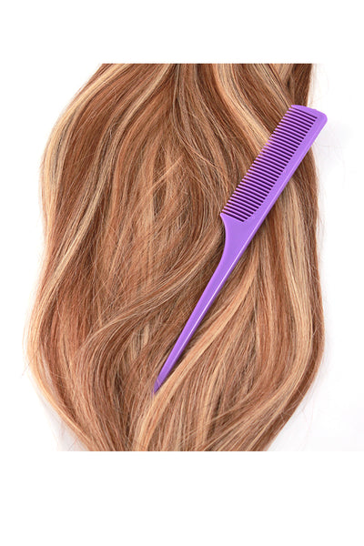 Rat Tail Comb: Purple - Celebrity Strands  - 2