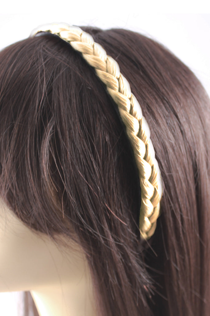 ... Braided Headband  Platinum Blonde - Celebrity Strands - 3 0730dbe7c62