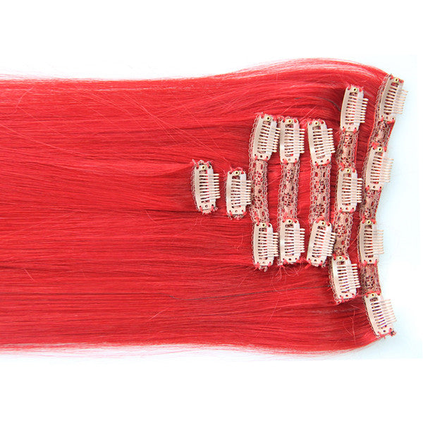"Red Carpet:  21"" Clip In Hair Extensions - Celebrity Strands  - 1"