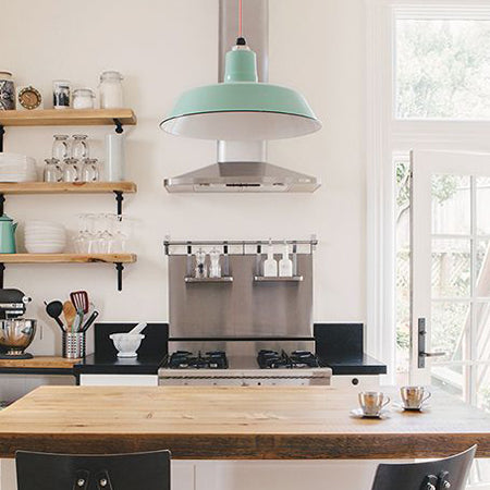 Why Porcelain Enamel Lights Are Perfect For Your Kitchen