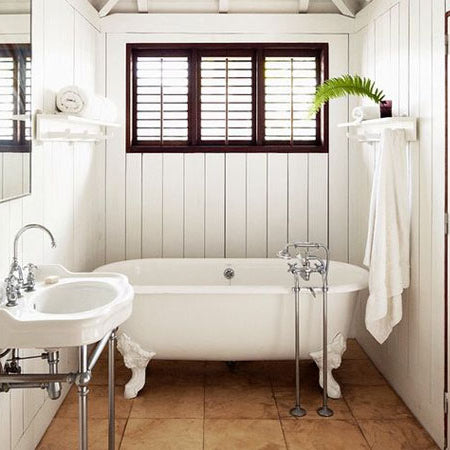How to design a vintage style bathroom
