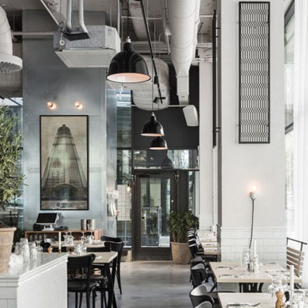 Get the Look: Chic Restaurants with Industrial Décor