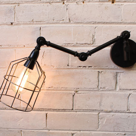 Just in: our Industrial Swing-arm Wall Light Collection