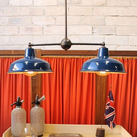 Introducing: the Vintage Industrial Chandelier!