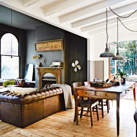 How to create that industrial look in your summer cottage interior design