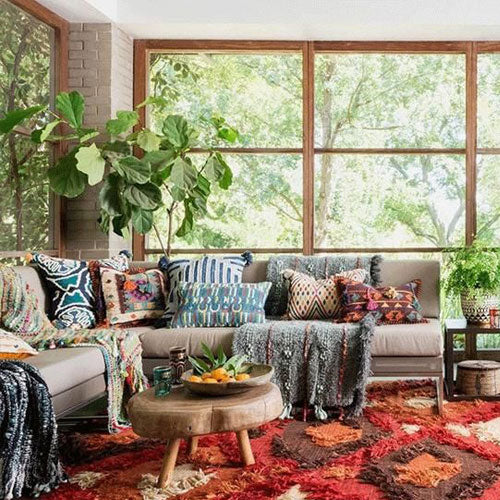 How to Achieve a Boho Look in Your Home
