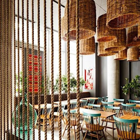 Lighting Trends 2015: the Wicker Pendant Light
