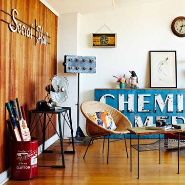 Vintage Industrial Style Furniture For Home Design