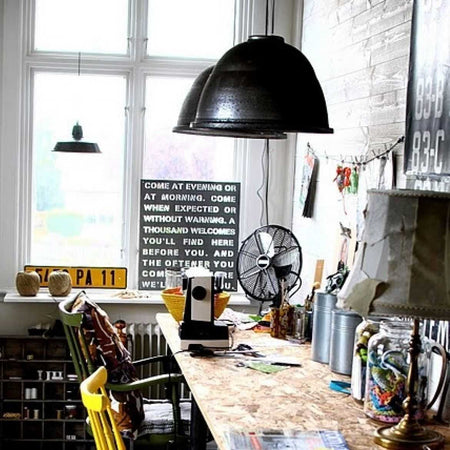 Vintage Industrial Style: Great for Home Office Design