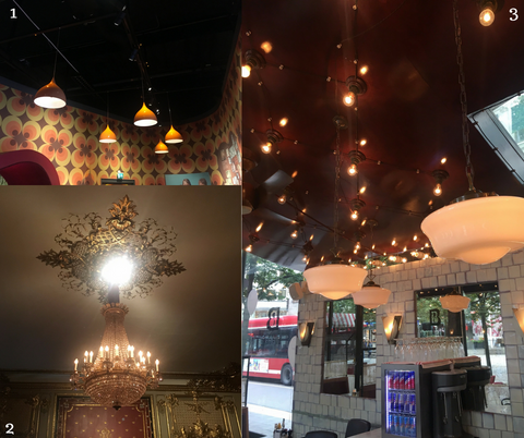1970s style lights at the abba museum get the look with our retro pendant light