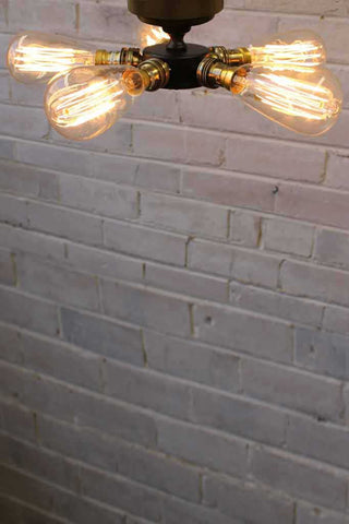 5-Light-Lamp-Holder-Batten-Light-with-edison filament-bulbs