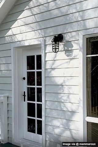 IP rated exterior light