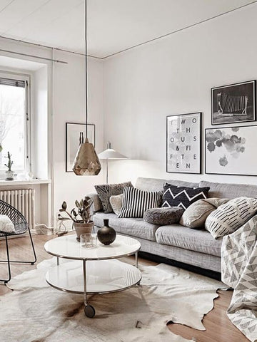 Chandeliers and pendant lights add an extra charm inside the room. Yet Floor and table lamps are two of the basic, and probably easiest interior lighting to mix