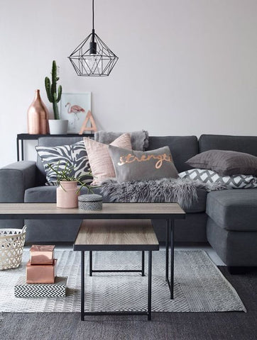 Clean, crisp, and breathtakingly simply, the Scandinavian still remains as a top style in this year's living room interior.