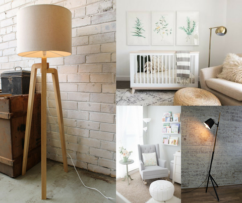 Kids lighting put the fun in functional fat shack vintage floor lamps mozeypictures Gallery