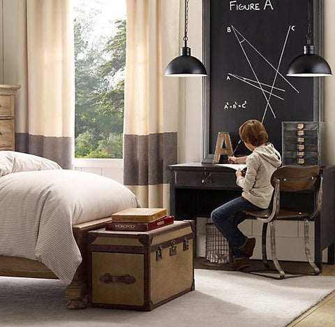 Industrial Style Bedrooms For Kids Can Also Be Sleeker, As The Example  Above Shows. Teenagers Might Prefer A Bit Less Colour, But The Vintage  Industrial ... Part 58