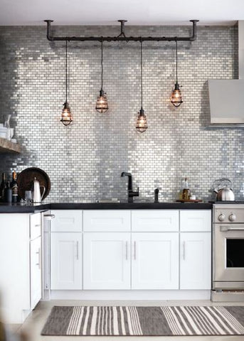 Kitchen lighting ideas for your home image via Bloglovin