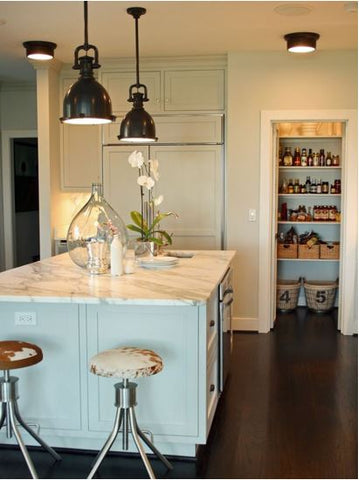 Kitchen lighting ideas for your home image via hgtv