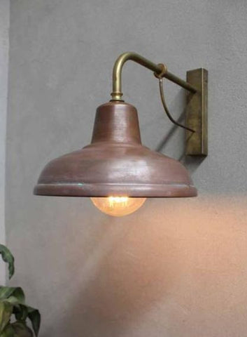 Like brass, copper offers a brilliant shine that could outlast the adverse effects of the seaside environment. Its colour darkens over time, giving off a vintage charm after being exposed to the elements.
